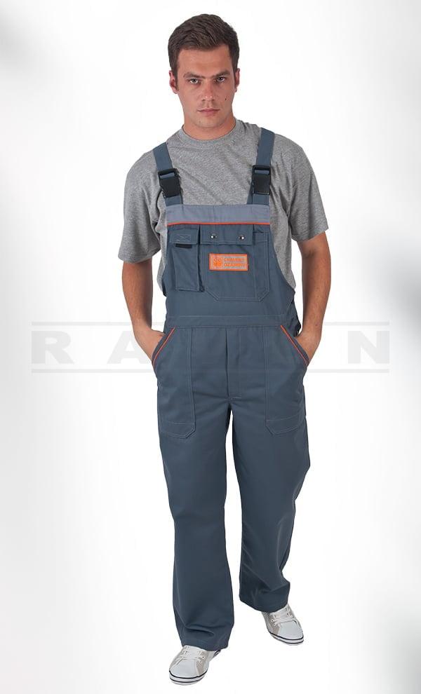 MX 034 Spodnie Ogrodniczki