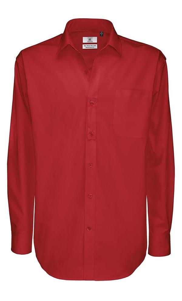 Twill Shirt Sharp Long Sleeve / Men