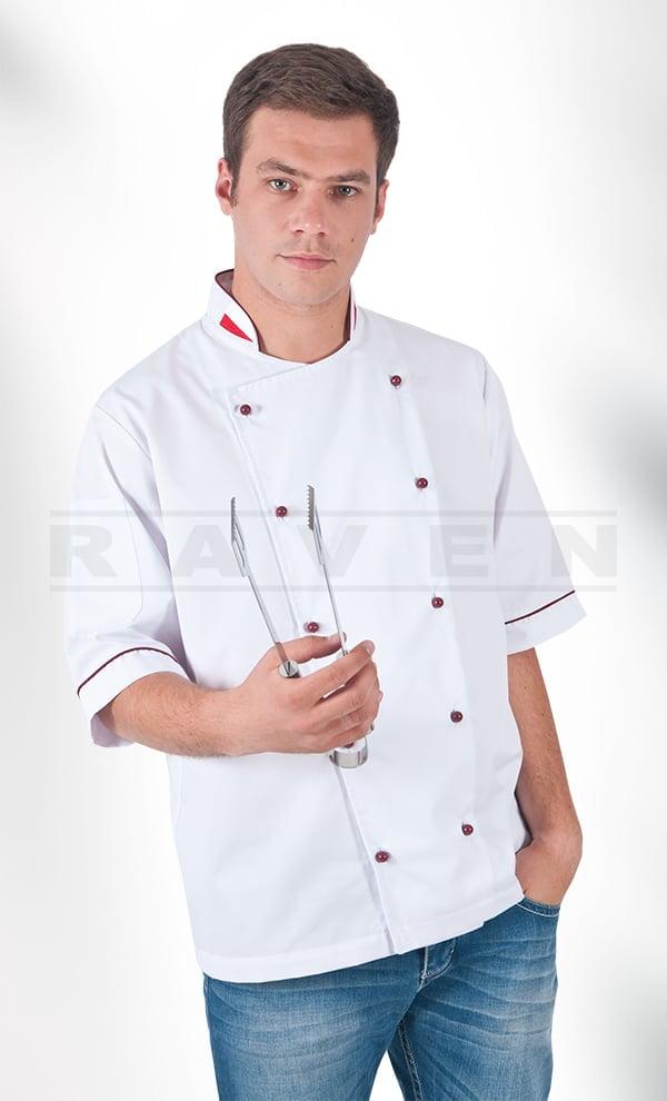 Odzież gastronomiczna - haftowane spodnie, fartuchy, koszule i akcesoria