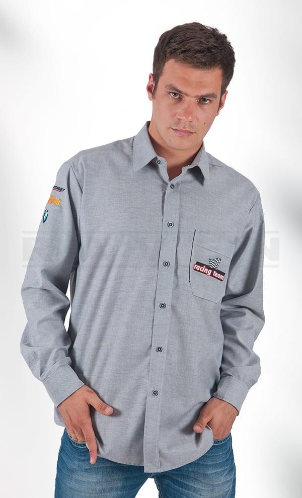 Koszule reklamowe z haftem