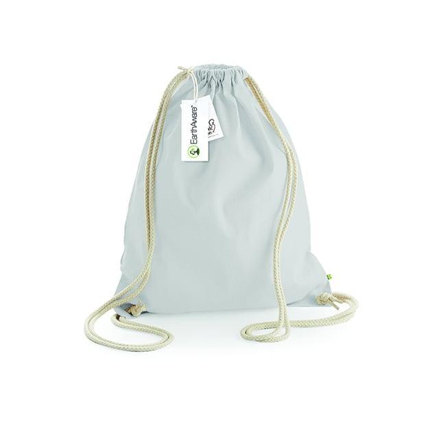 Torby i plecaki - Worek z bawełny organicznej EarthAware™ - W810 - Light Grey - RAVEN - koszulki reklamowe z nadrukiem, odzież reklamowa i gastronomiczna