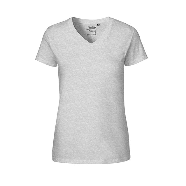 Damski T-Shirt w serek Fairtrade