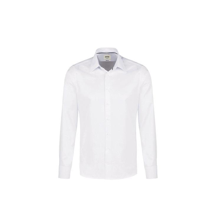 Koszula typu oxford z długimi rękawami 119