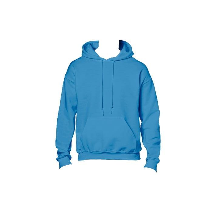 Bluzy - Bluza z kapturem Heavy Blend™ - Gildan 18500 - Sapphire - RAVEN - koszulki reklamowe z nadrukiem, odzież reklamowa i gastronomiczna