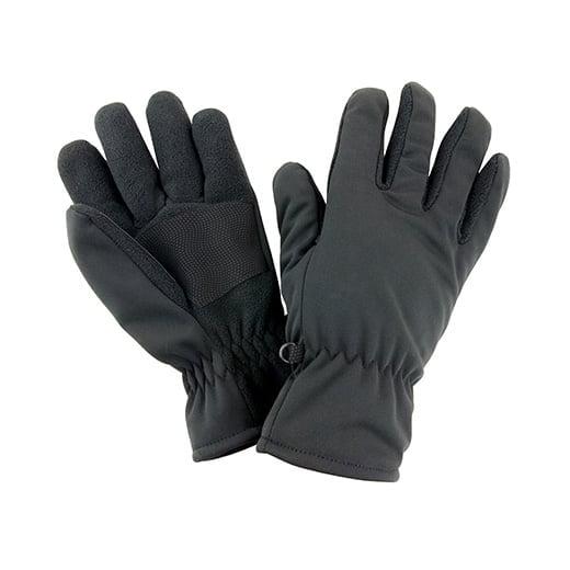 Rękawiczki termiczne z softshellu