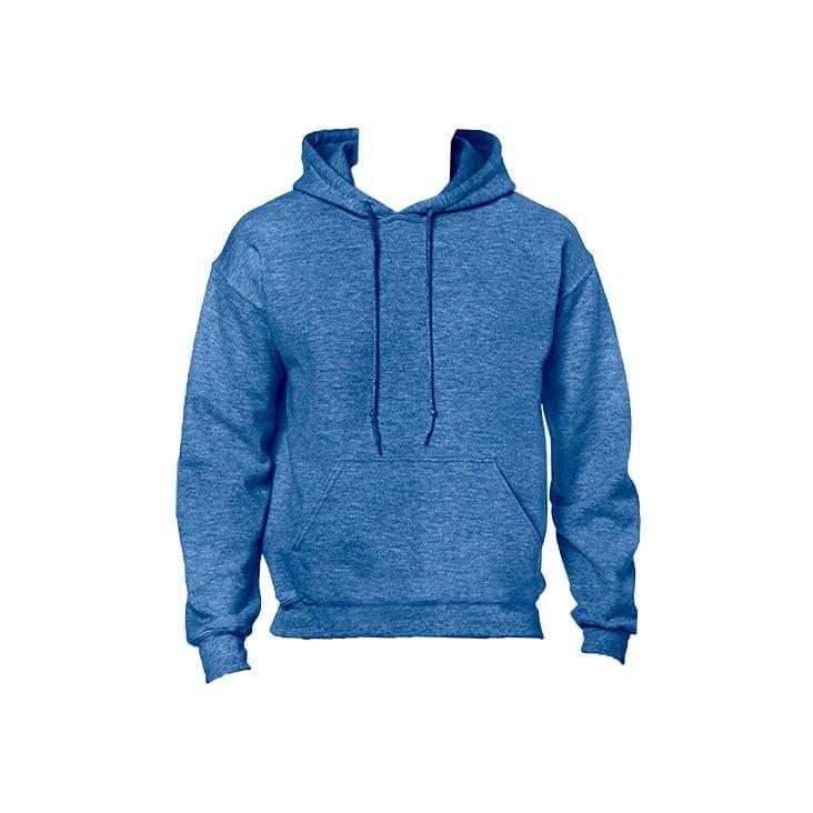 Bluzy - Bluza z kapturem Heavy Blend™ - Gildan 18500 - Heather Sport Roral Blue - RAVEN - koszulki reklamowe z nadrukiem, odzież reklamowa i gastronomiczna