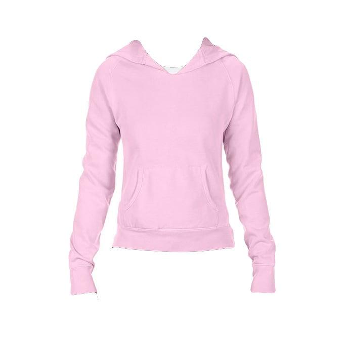 Bluzy - Damska bluza Hooded CC - Comfort Colors 1595 - Blossom - RAVEN - koszulki reklamowe z nadrukiem, odzież reklamowa i gastronomiczna