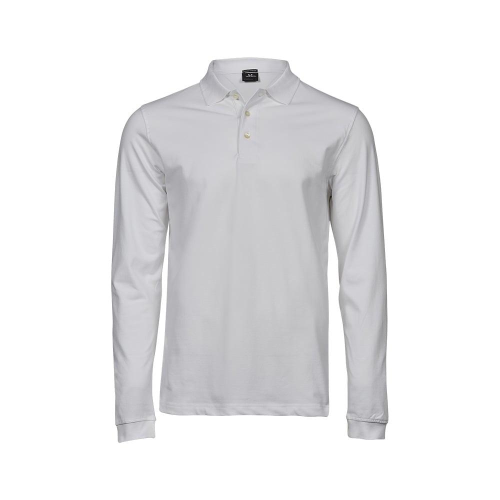 Męska koszulka z długim rękawem Luxury Stretch