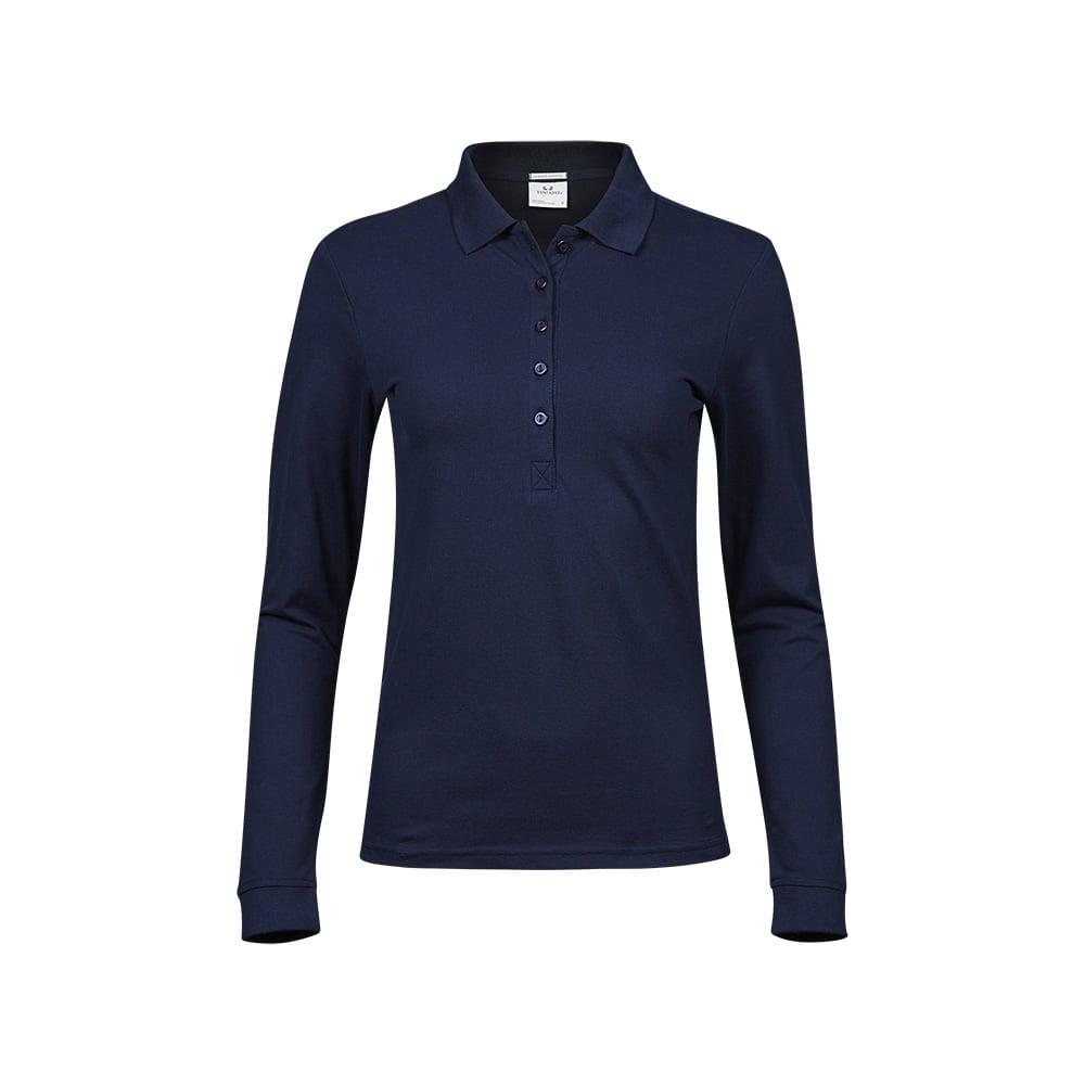 Damska koszulka z długim rękawem Luxury Stretch
