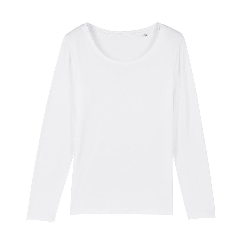 Koszulki T-Shirt - Damski T-shirt Stella Singer - STTW021 - White - RAVEN - koszulki reklamowe z nadrukiem, odzież reklamowa i gastronomiczna