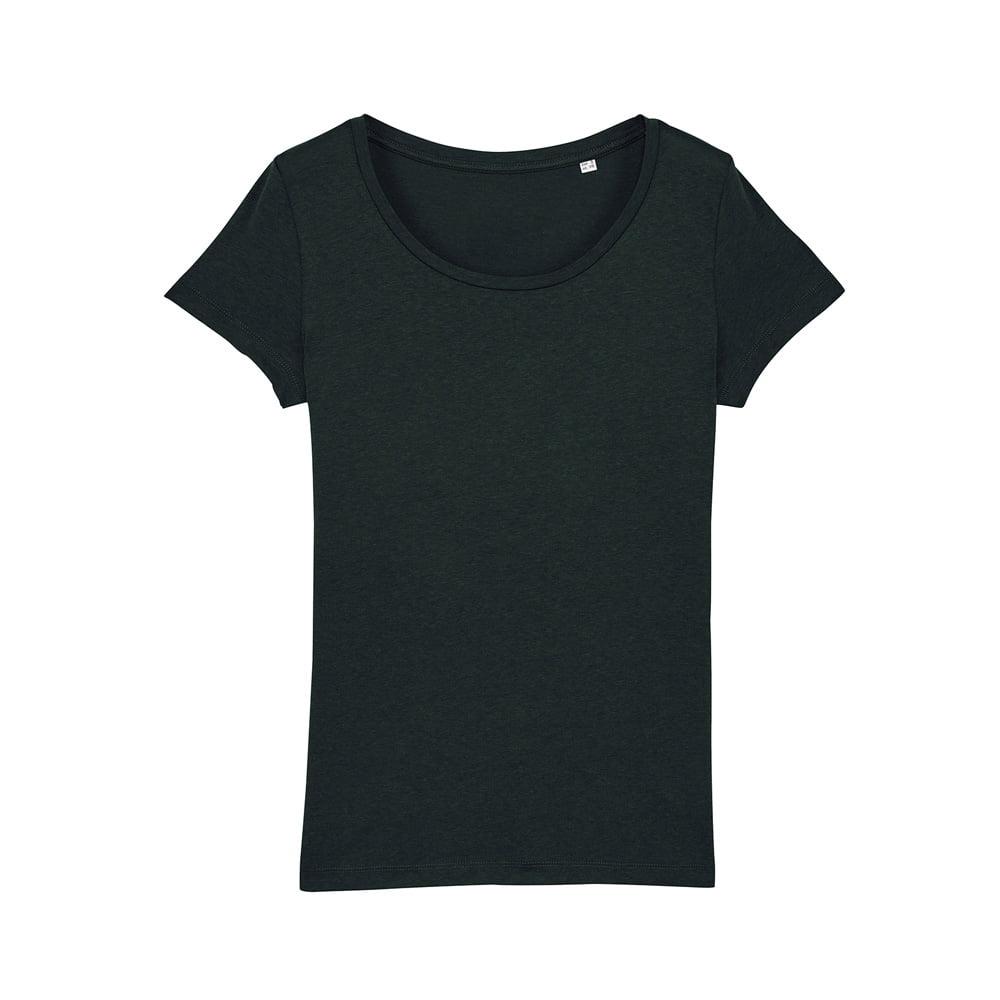 Koszulki T-Shirt - Damski T-shirt Stella Lover Modal - STTW030 - Black - RAVEN - koszulki reklamowe z nadrukiem, odzież reklamowa i gastronomiczna