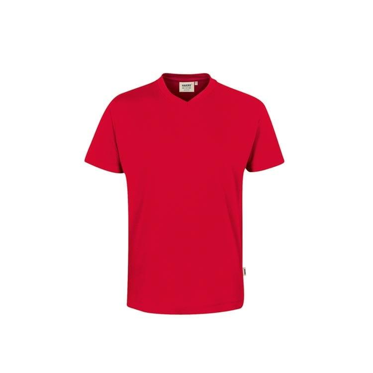Klasyczny męski T-shirt z dekoltem w serek 226