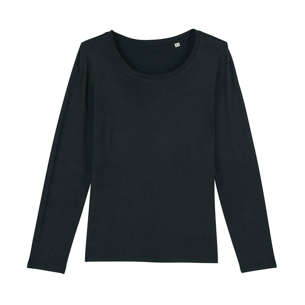 Koszulki T-Shirt - Damski T-shirt Stella Singer - STTW021 - Black - RAVEN - koszulki reklamowe z nadrukiem, odzież reklamowa i gastronomiczna