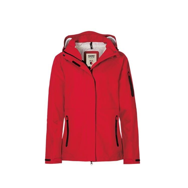 Kurtki - Damska kurtka funkcyjna Fernie 250 - Hakro 250 - Red - RAVEN - koszulki reklamowe z nadrukiem, odzież reklamowa i gastronomiczna