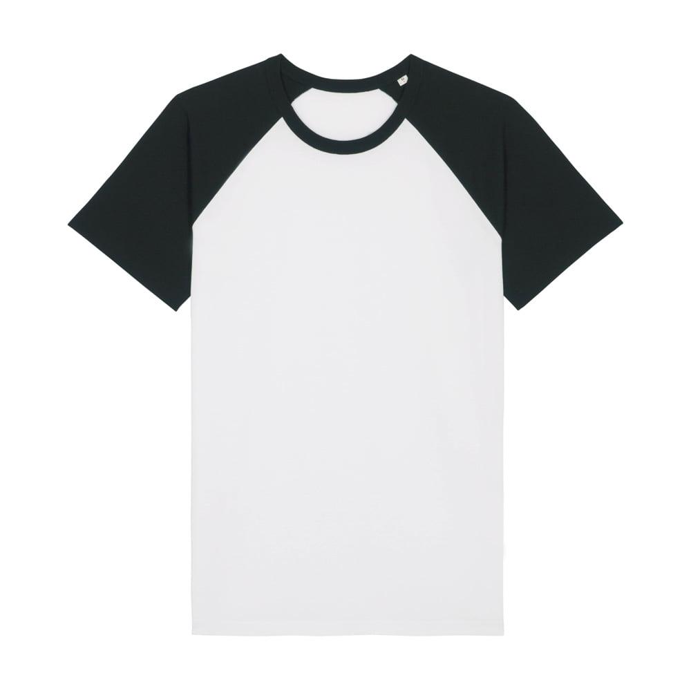 Koszulki T-Shirt - T-shirt Unisex Catcher Short Sleeve - STTU825 - White/Black - RAVEN - koszulki reklamowe z nadrukiem, odzież reklamowa i gastronomiczna