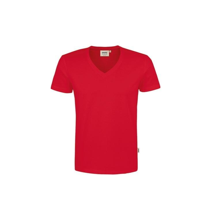 Męski t-shirt w serek modern 296