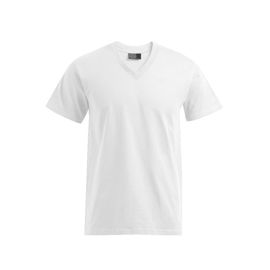 Męska koszulka z dekoltem w serek 3025
