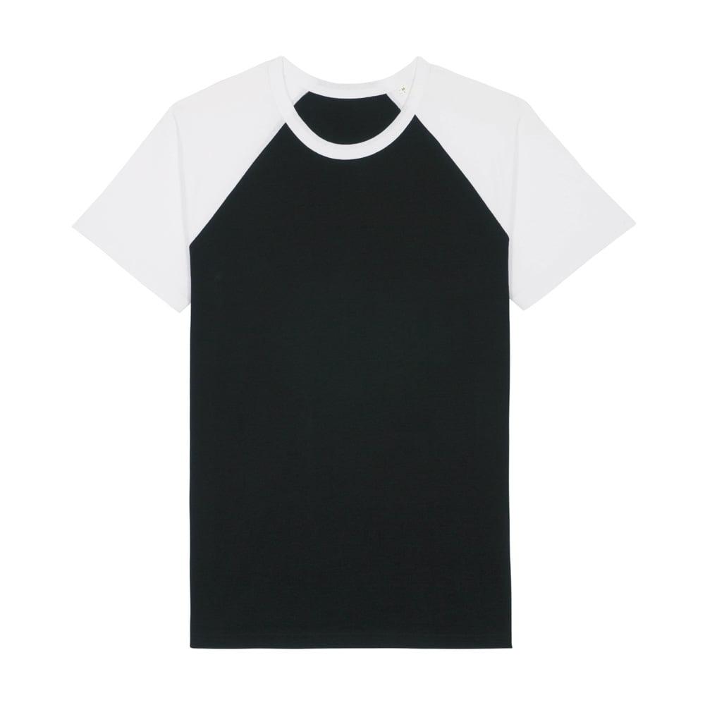 Koszulki T-Shirt - T-shirt Unisex Catcher Short Sleeve - STTU825 - Black/White - RAVEN - koszulki reklamowe z nadrukiem, odzież reklamowa i gastronomiczna