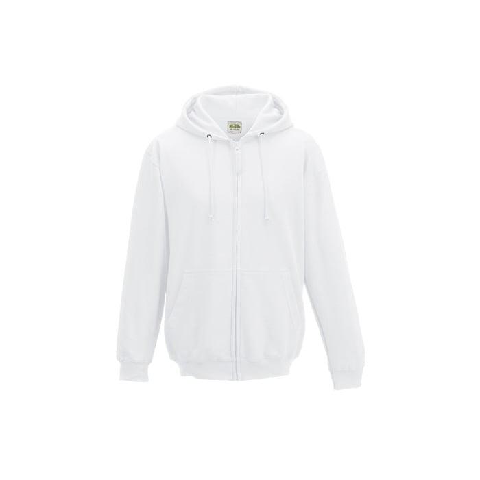 Bluzy - Bluza z kapturem Zoodie - Just Hoods JH050 - White - RAVEN - koszulki reklamowe z nadrukiem, odzież reklamowa i gastronomiczna