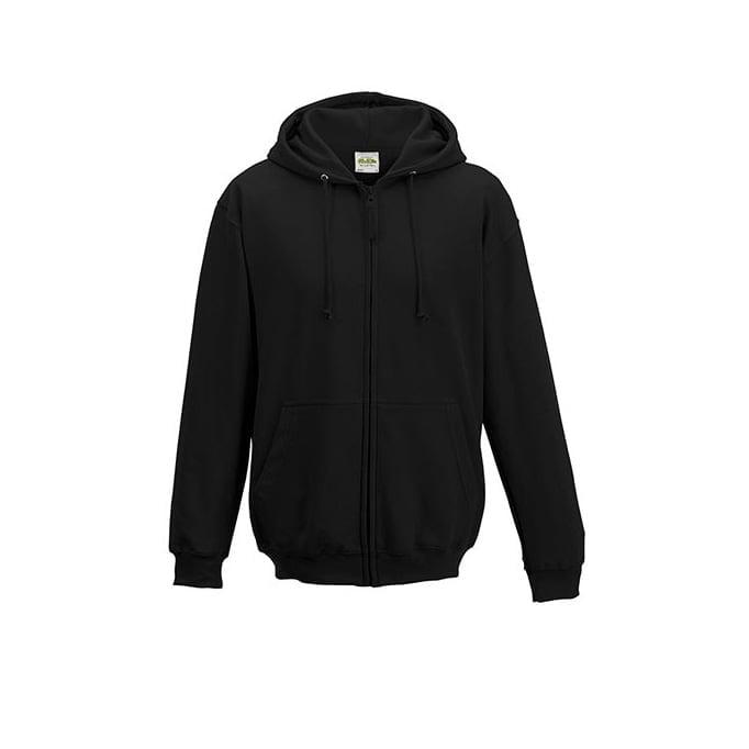 Bluzy - Bluza z kapturem Zoodie - Just Hoods JH050 - Black - RAVEN - koszulki reklamowe z nadrukiem, odzież reklamowa i gastronomiczna