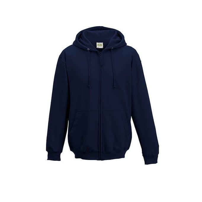 Bluzy - Bluza z kapturem Zoodie - Just Hoods JH050 - New French Navy - RAVEN - koszulki reklamowe z nadrukiem, odzież reklamowa i gastronomiczna