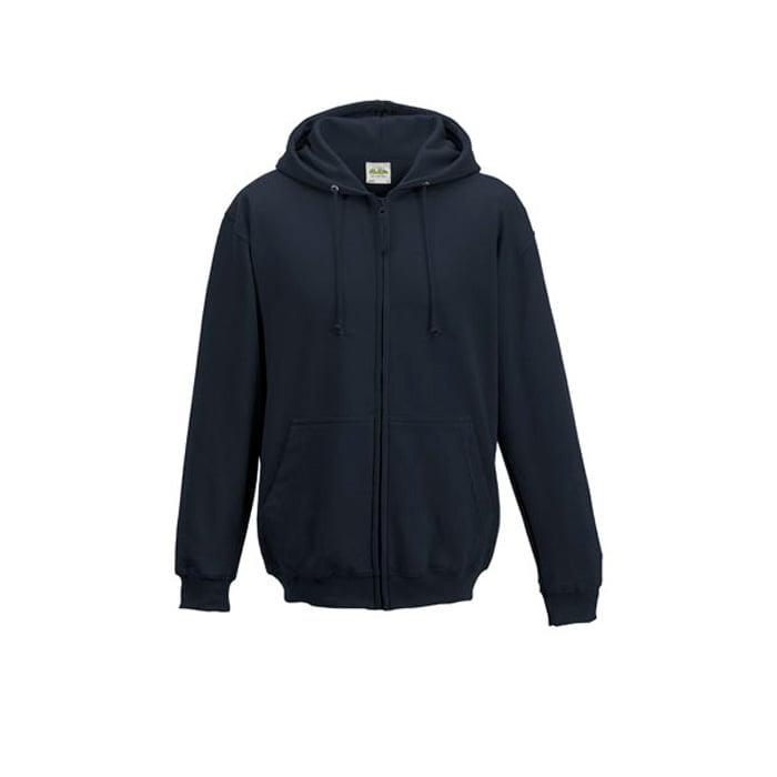 Bluzy - Bluza z kapturem Zoodie - Just Hoods JH050 - Oxford Navy - RAVEN - koszulki reklamowe z nadrukiem, odzież reklamowa i gastronomiczna