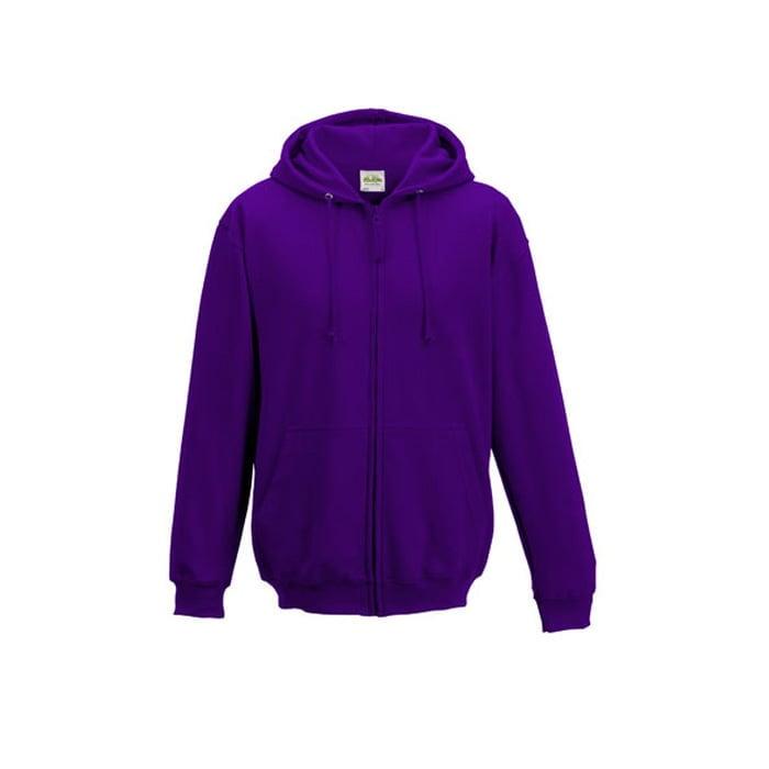 Bluzy - Bluza z kapturem Zoodie - Just Hoods JH050 - Purple - RAVEN - koszulki reklamowe z nadrukiem, odzież reklamowa i gastronomiczna