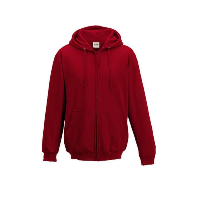 Bluzy - Bluza z kapturem Zoodie - Just Hoods JH050 - Red Hot Chili - RAVEN - koszulki reklamowe z nadrukiem, odzież reklamowa i gastronomiczna
