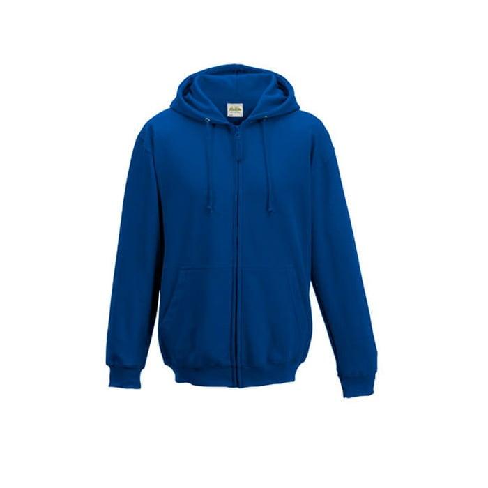 Bluzy - Bluza z kapturem Zoodie - Just Hoods JH050 - Royal Blue - RAVEN - koszulki reklamowe z nadrukiem, odzież reklamowa i gastronomiczna