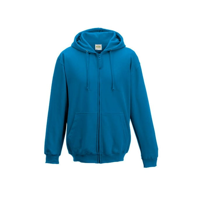 Bluzy - Bluza z kapturem Zoodie - Just Hoods JH050 - Sapphire Blue - RAVEN - koszulki reklamowe z nadrukiem, odzież reklamowa i gastronomiczna