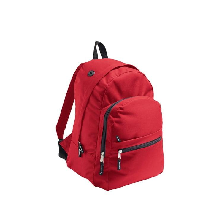 Torby i plecaki - Backpack Express - 70200 - Red - RAVEN - koszulki reklamowe z nadrukiem, odzież reklamowa i gastronomiczna