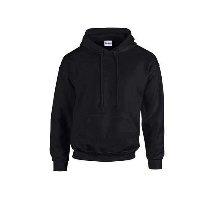 Bluzy - Bluza z kapturem Heavy Blend™ - Gildan 18500 - Black - RAVEN - koszulki reklamowe z nadrukiem, odzież reklamowa i gastronomiczna