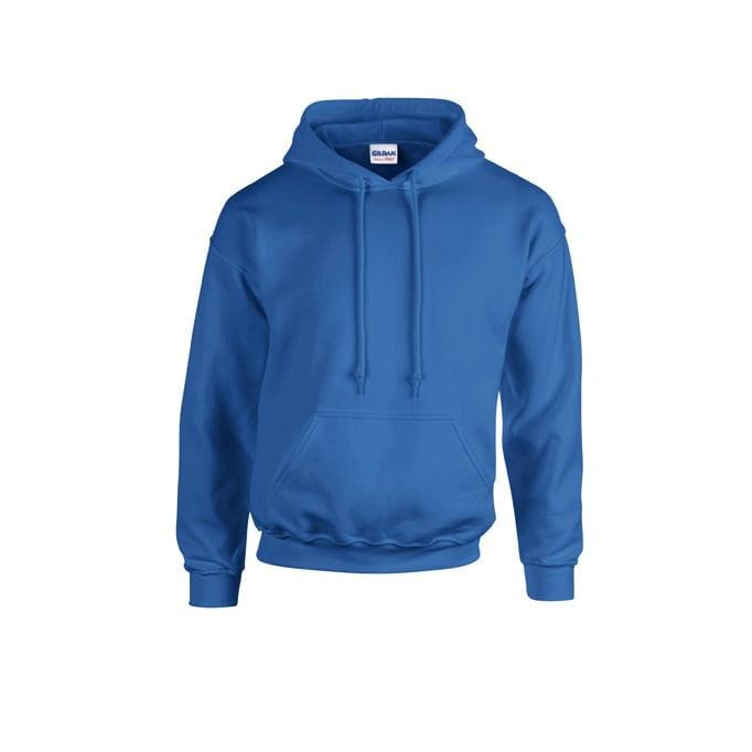 Bluzy - Bluza z kapturem Heavy Blend™ - Gildan 18500 - Royal - RAVEN - koszulki reklamowe z nadrukiem, odzież reklamowa i gastronomiczna
