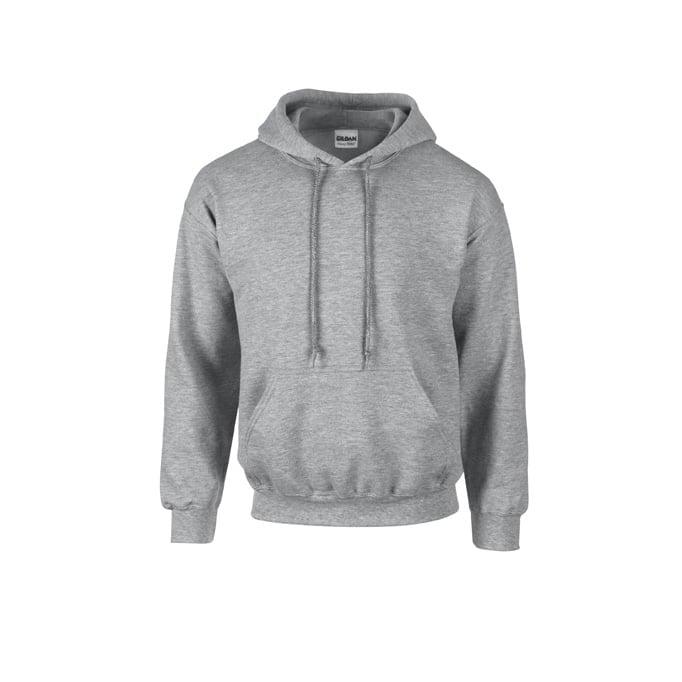 Bluzy - Bluza z kapturem Heavy Blend™ - Gildan 18500 - Sport Grey (Heather) - RAVEN - koszulki reklamowe z nadrukiem, odzież reklamowa i gastronomiczna
