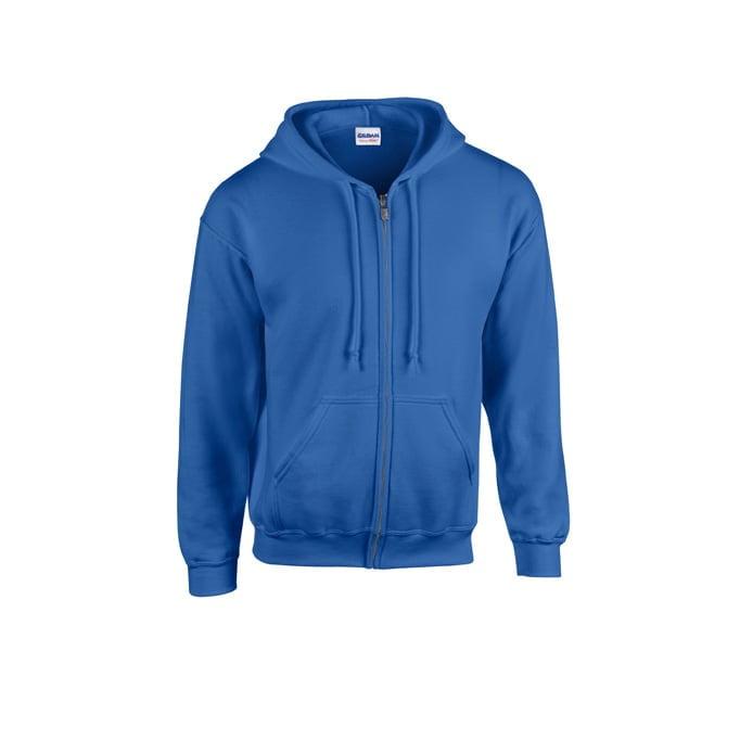 Bluzy - Bluza z pełnym zamkiem Heavy Blend™ - Gildan 18600 - Royal - RAVEN - koszulki reklamowe z nadrukiem, odzież reklamowa i gastronomiczna