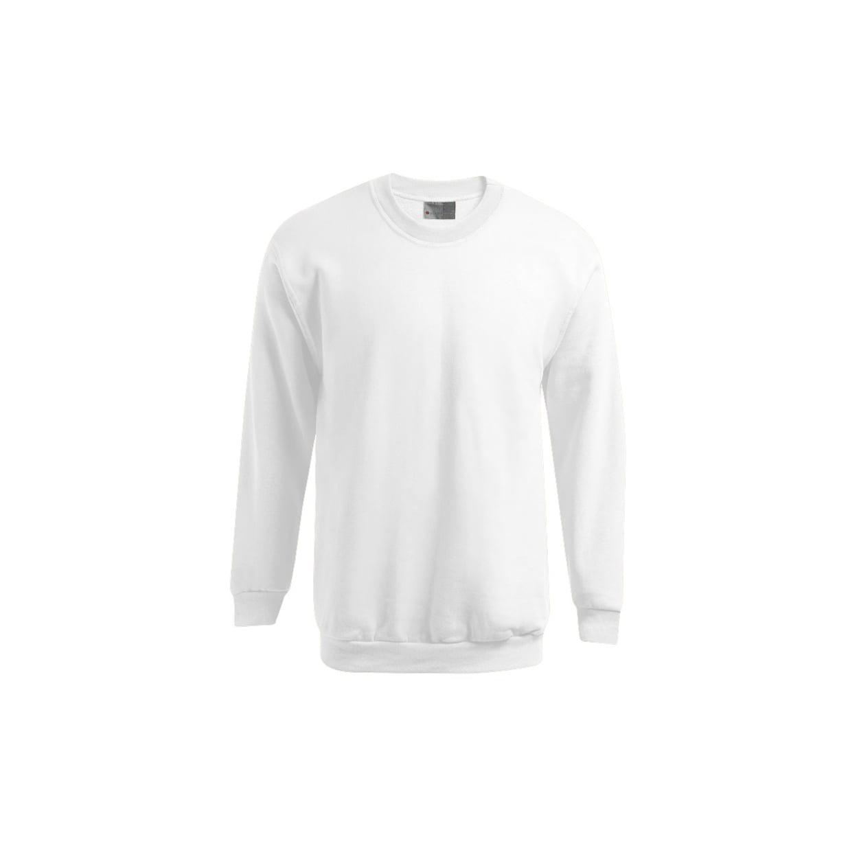 Bluzy - Męska bluza Crewneck 100 - Promodoro 5099 - White - RAVEN - koszulki reklamowe z nadrukiem, odzież reklamowa i gastronomiczna