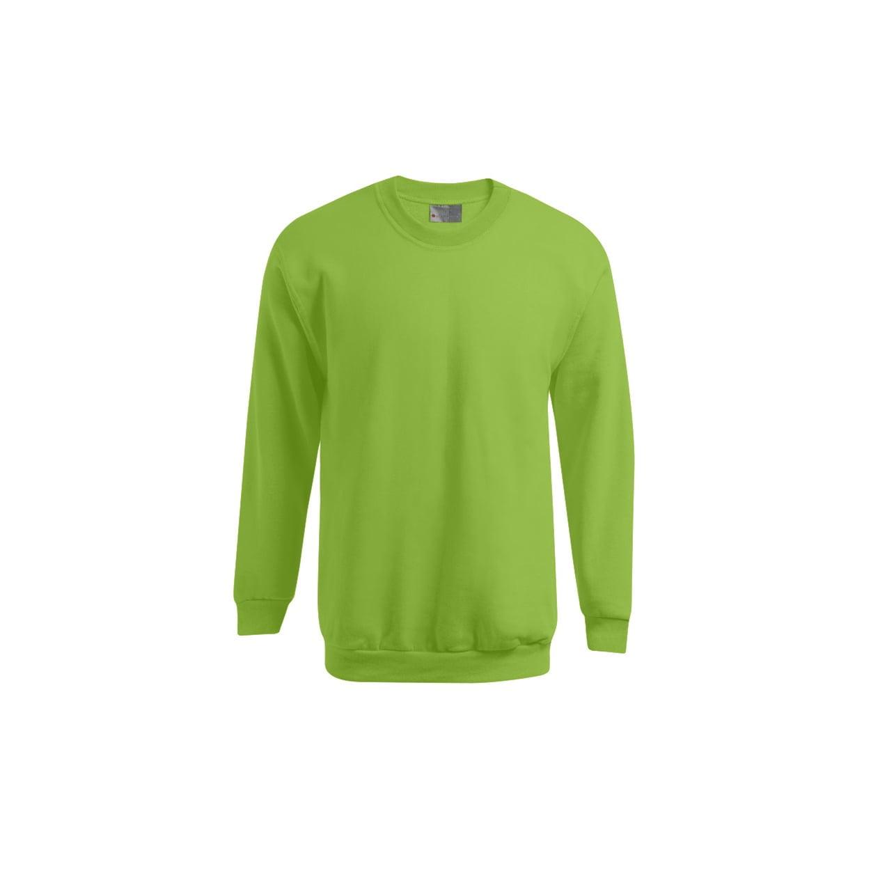 Bluzy - Męska bluza Crewneck 100 - Promodoro 5099 - Lime Green - RAVEN - koszulki reklamowe z nadrukiem, odzież reklamowa i gastronomiczna