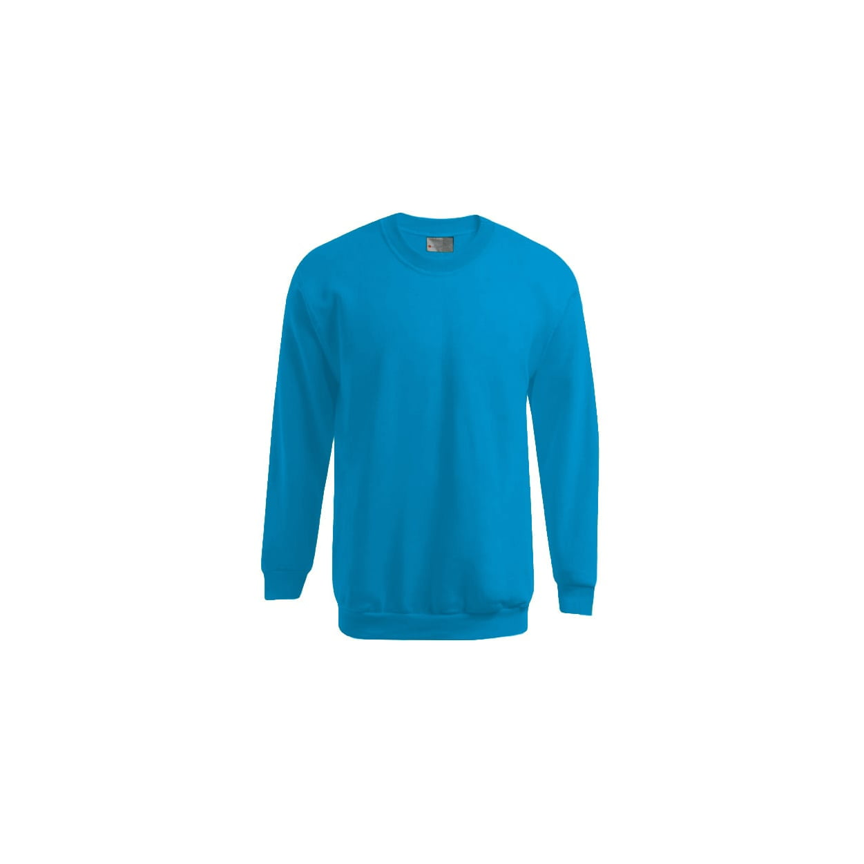 Bluzy - Męska bluza Crewneck 100 - Promodoro 5099 - Turquoise - RAVEN - koszulki reklamowe z nadrukiem, odzież reklamowa i gastronomiczna