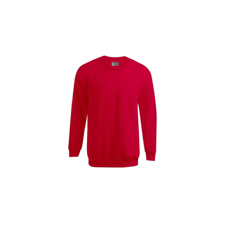 Bluzy - Męska bluza Crewneck 100 - Promodoro 5099 - Red - RAVEN - koszulki reklamowe z nadrukiem, odzież reklamowa i gastronomiczna