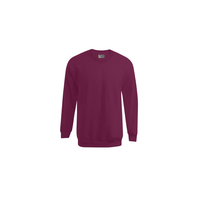 Bluzy - Męska bluza Crewneck 100 - Promodoro 5099 - Bordeaux - RAVEN - koszulki reklamowe z nadrukiem, odzież reklamowa i gastronomiczna