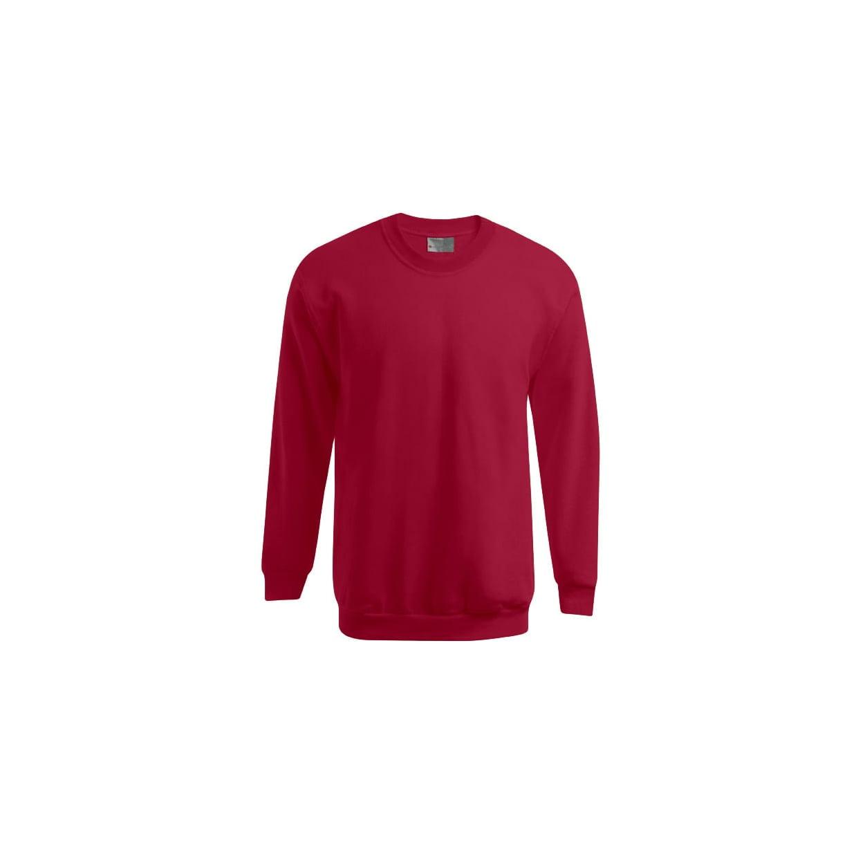 Bluzy - Męska bluza Crewneck 100 - Promodoro 5099 - Cherry Berry - RAVEN - koszulki reklamowe z nadrukiem, odzież reklamowa i gastronomiczna