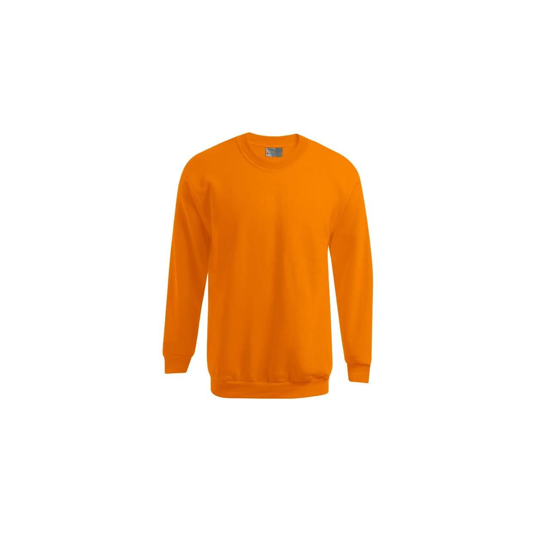 Bluzy - Męska bluza Crewneck 100 - Promodoro 5099 - Orange - RAVEN - koszulki reklamowe z nadrukiem, odzież reklamowa i gastronomiczna