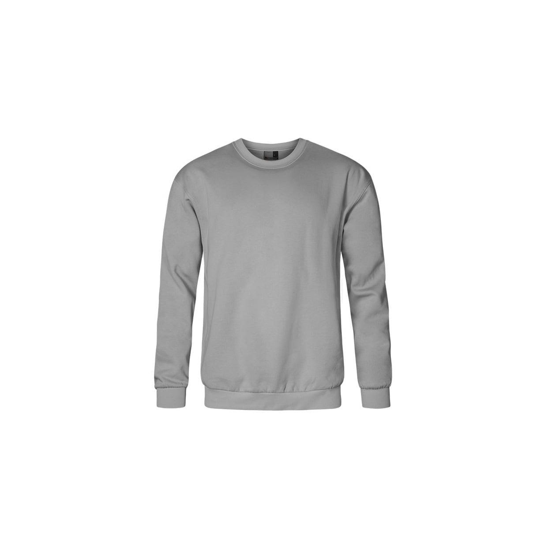 Bluzy - Męska bluza Crewneck 100 - Promodoro 5099 - New Light Grey (Solid) - RAVEN - koszulki reklamowe z nadrukiem, odzież reklamowa i gastronomiczna