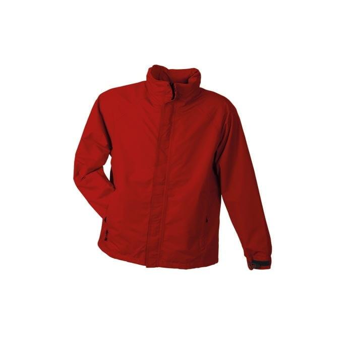 Kurtki - Men´s Outer Jacket - JN 1010 - Red - RAVEN - koszulki reklamowe z nadrukiem, odzież reklamowa i gastronomiczna