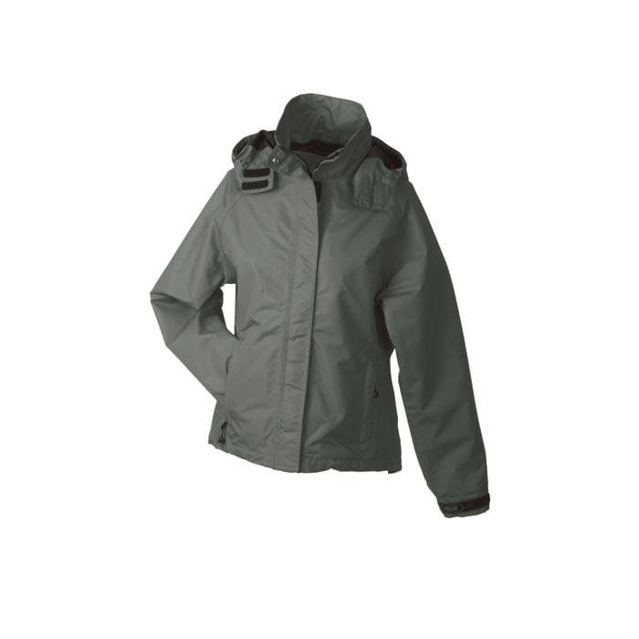 Kurtki - Ladies´ Outer Jacket - JN 1011 - Olive - RAVEN - koszulki reklamowe z nadrukiem, odzież reklamowa i gastronomiczna