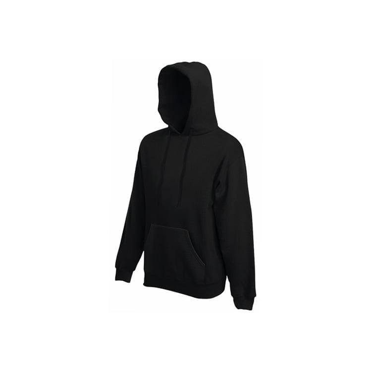 Bluzy - Bluza Premium Hooded - Fruit of the Loom 62-152-0 - Black - RAVEN - koszulki reklamowe z nadrukiem, odzież reklamowa i gastronomiczna