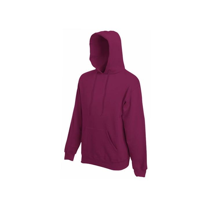 Bluzy - Bluza Premium Hooded - Fruit of the Loom 62-152-0 - Burgundy - RAVEN - koszulki reklamowe z nadrukiem, odzież reklamowa i gastronomiczna