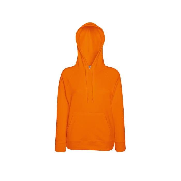 Bluzy - Damska bluza Lightweight Lady-Fit - Fruit of the Loom62-148-0 - Orange - RAVEN - koszulki reklamowe z nadrukiem, odzież reklamowa i gastronomiczna