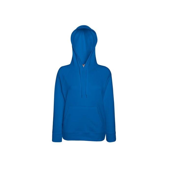Bluzy - Damska bluza Lightweight Lady-Fit - Fruit of the Loom62-148-0 - Royal Blue - RAVEN - koszulki reklamowe z nadrukiem, odzież reklamowa i gastronomiczna