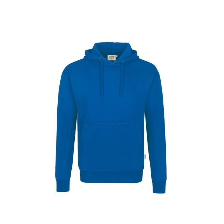 Bluzy - Bluza Premium z kapturem 601 - Hakro 601 - Royal Blue - RAVEN - koszulki reklamowe z nadrukiem, odzież reklamowa i gastronomiczna
